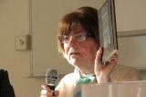 Jaroslava Dienstbierová, redaktorka bývalého nakladatelství Svět sovětů (později Lidové nakladatelství)